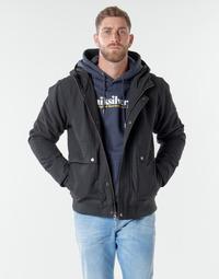 textil Hombre cazadoras Quiksilver BROOKS M JCKT KVJ0 Negro