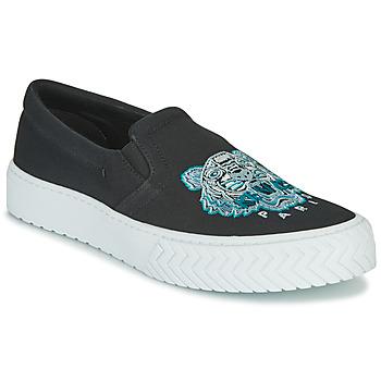 Zapatos Mujer Slip on Kenzo K SKATE Negro