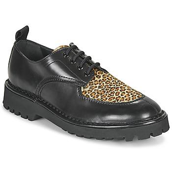 Zapatos Mujer Derbie Kenzo K MOUNT Negro / Leopardo