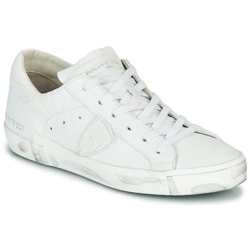 Zapatos Mujer Zapatillas bajas Philippe Model PARIS X BASIC Blanco