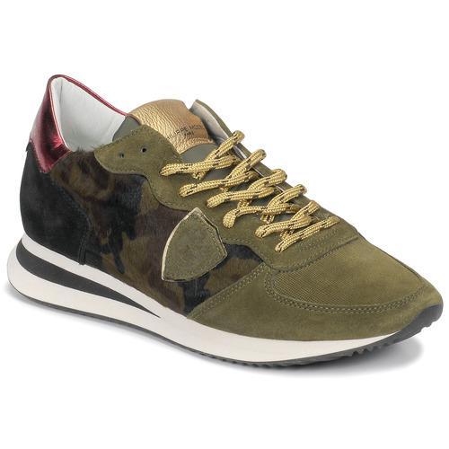 Zapatos Mujer Zapatillas bajas Philippe Model TROPEZ Camuflaje