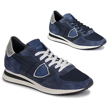 Zapatos Mujer Zapatillas bajas Philippe Model TROPEZ Marino