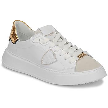 Zapatos Mujer Zapatillas bajas Philippe Model TEMPLE Blanco
