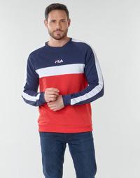 textil Hombre Sudaderas Fila CREW SWEATER Azul / Blanco / Rojo