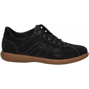 Zapatos Hombre Zapatillas bajas Frau SUEDE blu