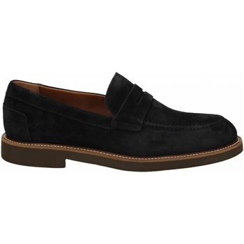 Zapatos Hombre Mocasín Frau SUEDE blu