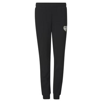 textil Niña Pantalones de chándal Puma ALPHA SWEAT PANT Negro