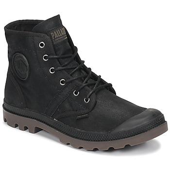 Zapatos Botas de caña baja Palladium PALLABROUSE WAX Negro