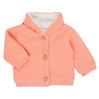 textil Niña Chaquetas de punto Noukie's Z050003 Rosa