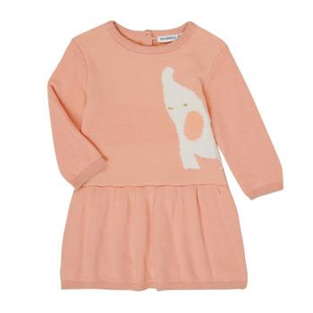 textil Niña Vestidos cortos Noukie's Z050082 Rosa