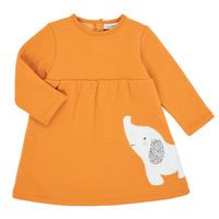 textil Niña Vestidos cortos Noukie's Z050083 Naranja
