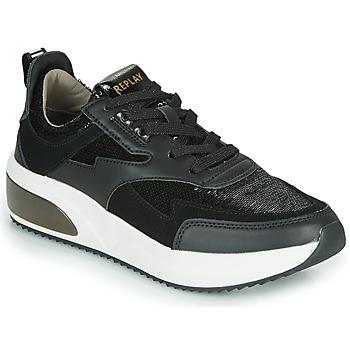 Zapatos Mujer Zapatillas bajas Replay FLOW CREATION Negro