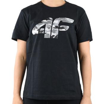 textil Niño Camisetas manga corta 4F Boy's T-shirt Noir