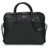 Bolsos Hombre Maletín / Portadocumentos Polo Ralph Lauren COMMUTER-BUSINESS CASE-SMOOTH LEATHER Negro