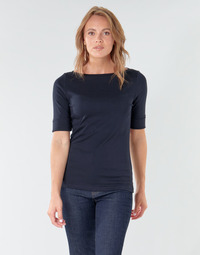 textil Mujer Camisetas manga larga Lauren Ralph Lauren JUDY Marino