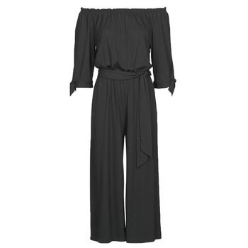 textil Mujer Monos / Petos Lauren Ralph Lauren VANDRIN Negro