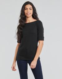 textil Mujer Camisetas manga larga Lauren Ralph Lauren JUDY Negro
