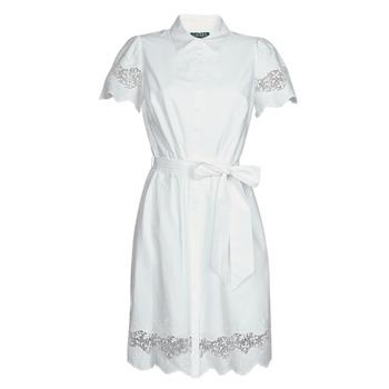 textil Mujer Vestidos cortos Lauren Ralph Lauren DORTHIA Blanco