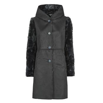 textil Mujer Abrigos Lauren Ralph Lauren COMBO FX SH-COAT Negro