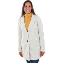 textil Mujer Abrigos Vero Moda 10222400 VMMARBLELLA 3/4 JACKET BOOSTER OATMEAL MELANGE Beige