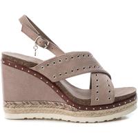 Zapatos Mujer Sandalias Xti 48922 TAUPE Marrón oscuro