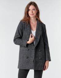 textil Mujer Abrigos Le Temps des Cerises DILAN1 Negro