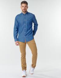 textil Hombre Pantalones chinos Le Temps des Cerises KURT JOGG Beige