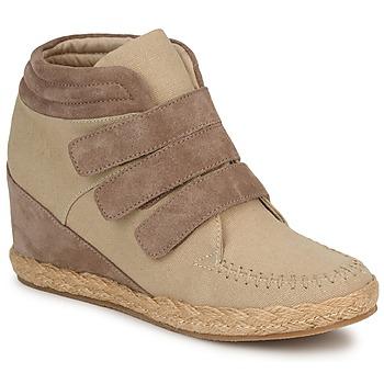Zapatos Mujer Zapatillas altas No Name SPLEEN STRAPS Beige / Topotea
