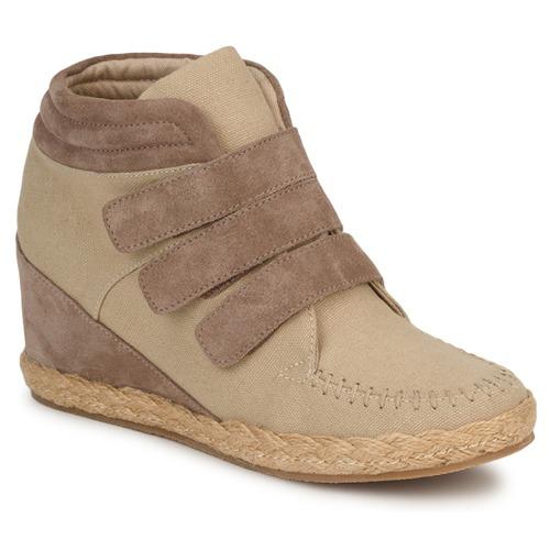 Venta de liquidación de temporada Zapatos STRAPS especiales No Name SPLEEN STRAPS Zapatos Beige / Topotea 902156