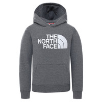 textil Niños Sudaderas The North Face DREW PEAK HOODIE Gris