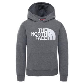 textil Niños Sudaderas The North Face DREW PEAK HOODIE Gris