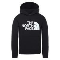 textil Niños Sudaderas The North Face DREW PEAK HOODIE Negro