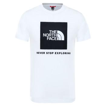 textil Niños Camisetas manga corta The North Face BOX TEE SUMMIT Blanco