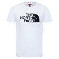 textil Niño Camisetas manga corta The North Face EASY TEE Blanco
