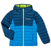 textil Niño Plumas Columbia POWDER LITE HOODED JACKET Azul