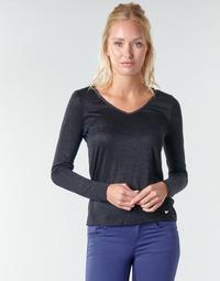 textil Mujer Camisetas manga larga Les Petites Bombes ADRIANA Negro