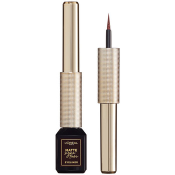 Belleza Mujer Eyeliner L'oréal Matte Signature Eyeliner 03-marron