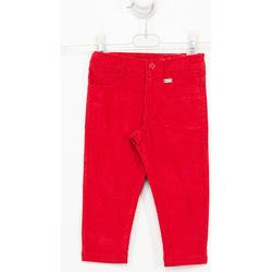 textil Niño Pantalones Tutto Piccolo Pantalones de pana Rojo