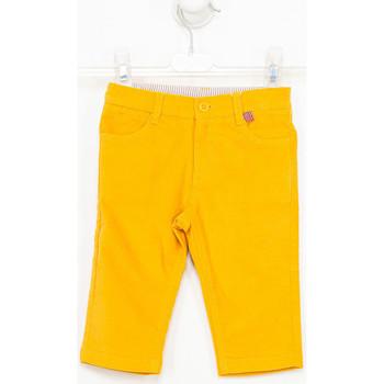 textil Niño Pantalones Tutto Piccolo Pantalones de ante Amarillo