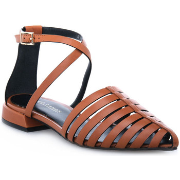 Zapatos Mujer Sandalias Elvio Zanon PARMA CUOIO Marrone