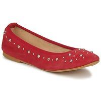 Zapatos Mujer Bailarinas-manoletinas Meline LUSON Rojo
