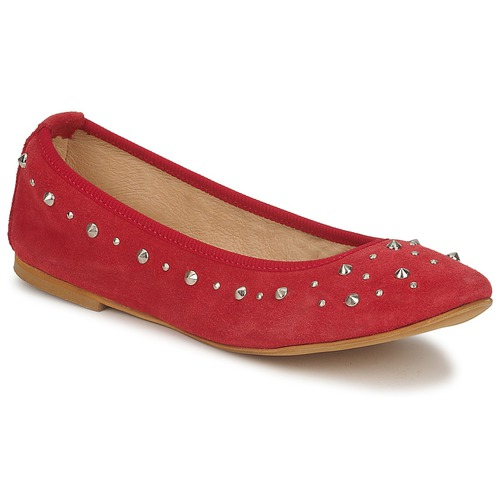 Meline Rojo Zapatos manoletinas Bailarinas Luson Mujer mN0vnw8