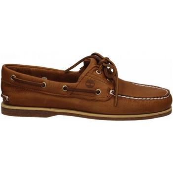 Zapatos Hombre Zapatos náuticos Timberland CLASSIC BOAT 2 saddle