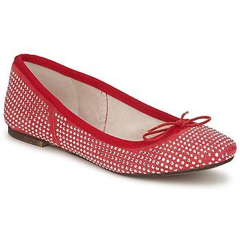 Zapatos Mujer Bailarinas-manoletinas Meline BALDE ROCK Rojo