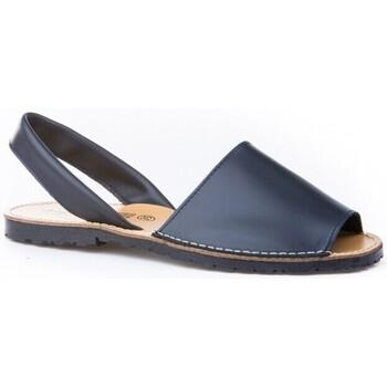 Zapatos Mujer Sandalias Avarca Cayetano Ortuño Avarcas menorquinas de mujer by C.Ortuño Bleu