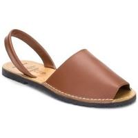 Zapatos Mujer Sandalias Avarca Cayetano Ortuño Avarcas menorquinas de hombre by C. Ortuño Marron