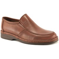 Zapatos Hombre Mocasín Comodo Sport Mocasines de piel de hombre by Marron