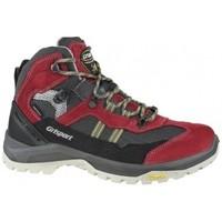 Zapatos Mujer Multideporte Grisport Scamosciato rojo