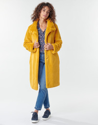 textil Mujer Abrigos S.Oliver 05-009-52 Amarillo