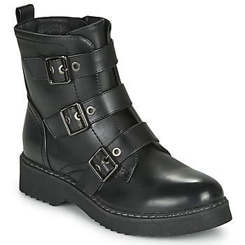Zapatos Mujer Botas de caña baja Spot on F51069 Negro